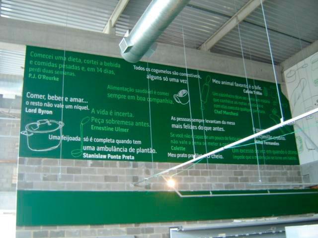 Adesivo personalizado para parede