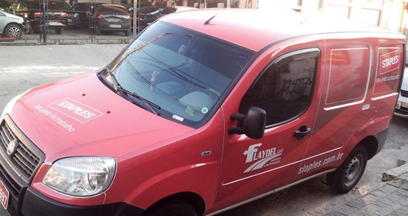 Empresa de sinalização de veículos