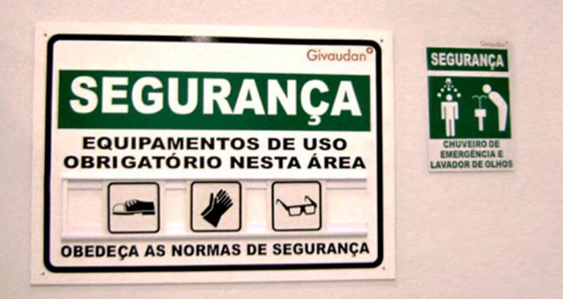 Placas de aviso