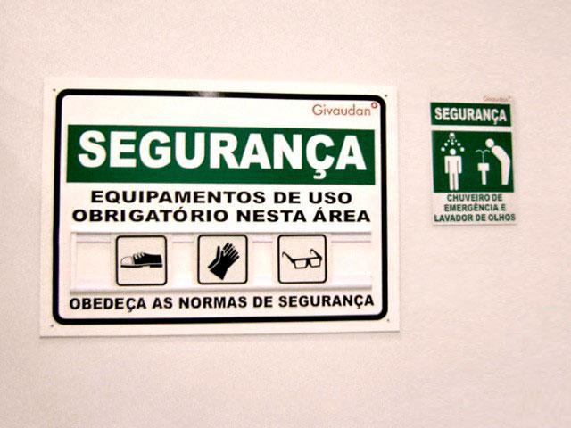 Sinalização de segurança no trabalho