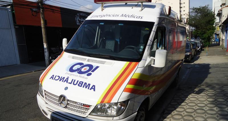 Sinalização de veículos de emergência