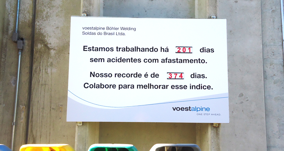 Placas de Advertência