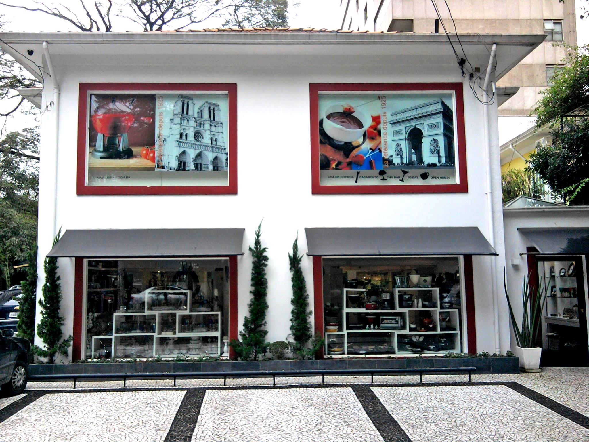 Decoração de vitrines